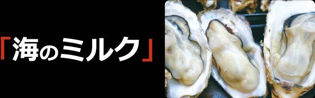海のミルク 牡蠣
