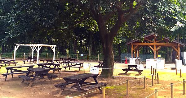 北総花の丘公園 バーベキューガーデン | デジキュー BBQ場